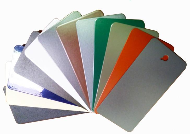 Aluminum Color Samples