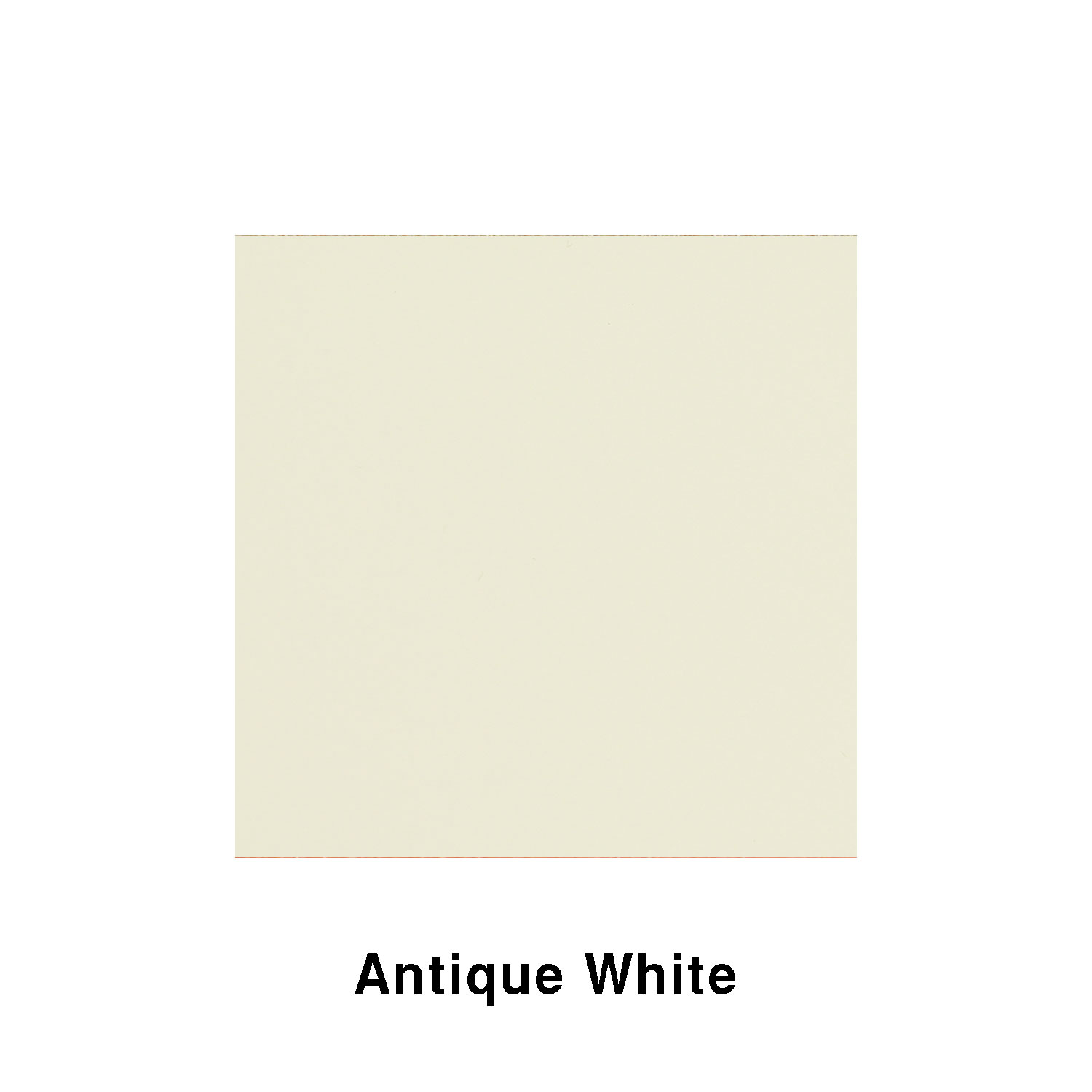 Antique White Fiberglass Finish