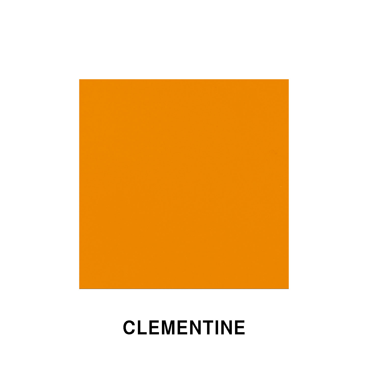 Clementine Orange Fiberglass Finish