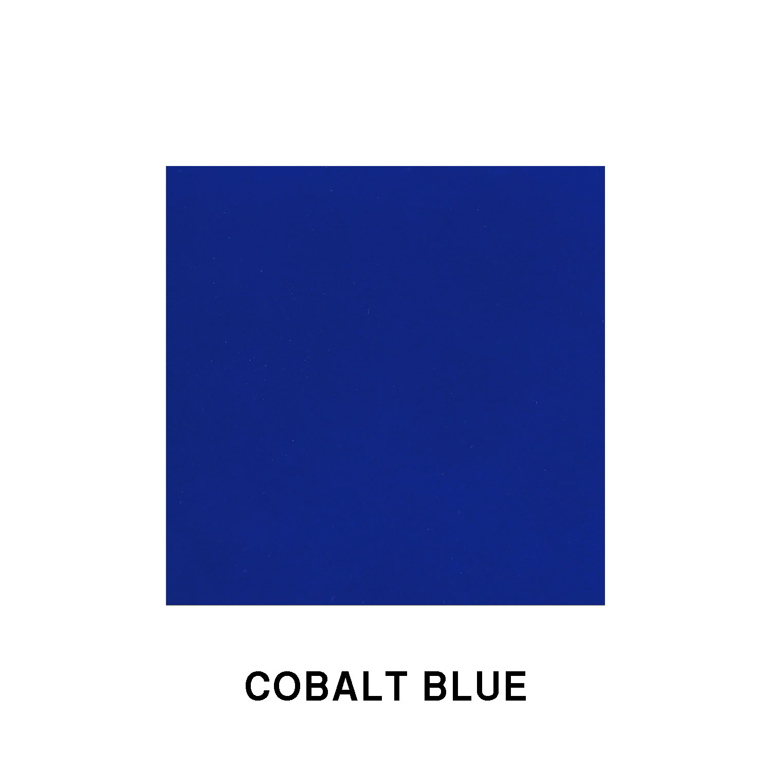 Cobalt Blue Fiberglass Finish