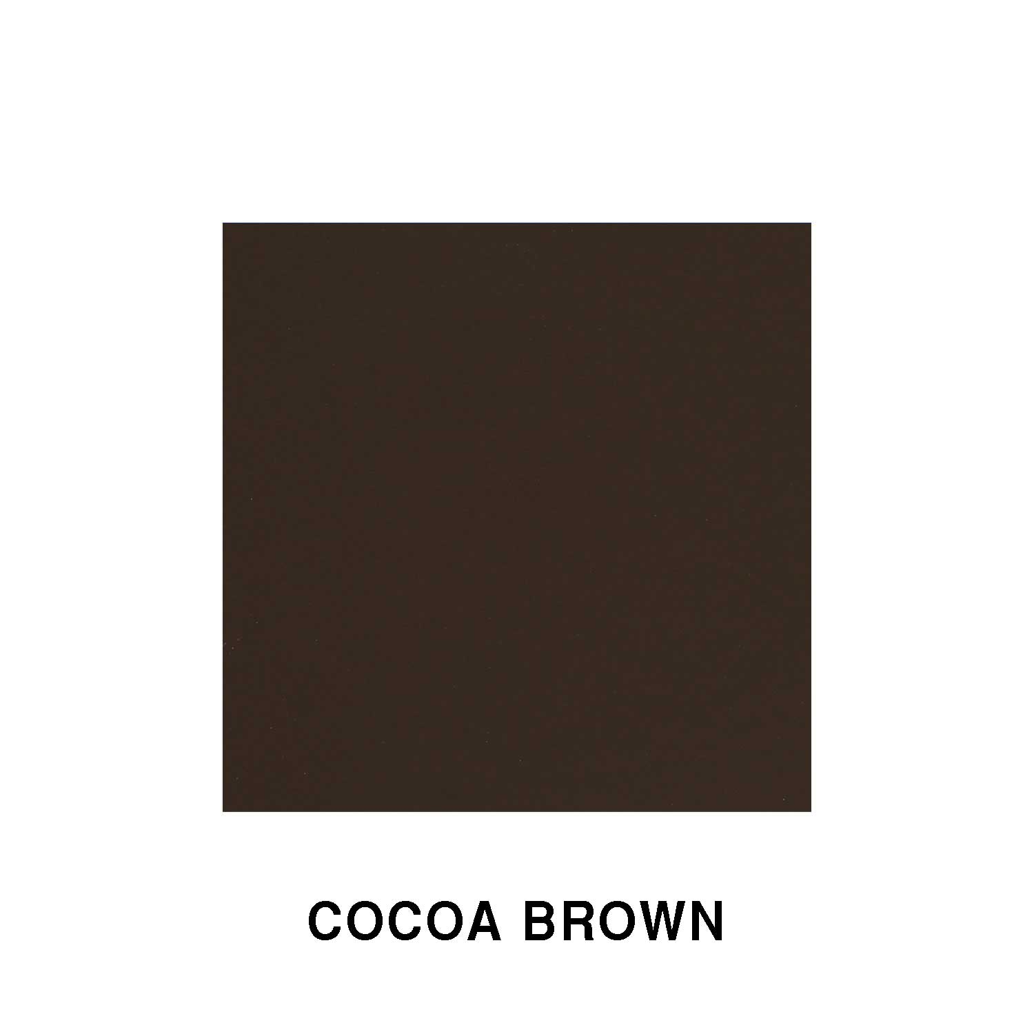 Cocoa Brown Fiberglass Finish
