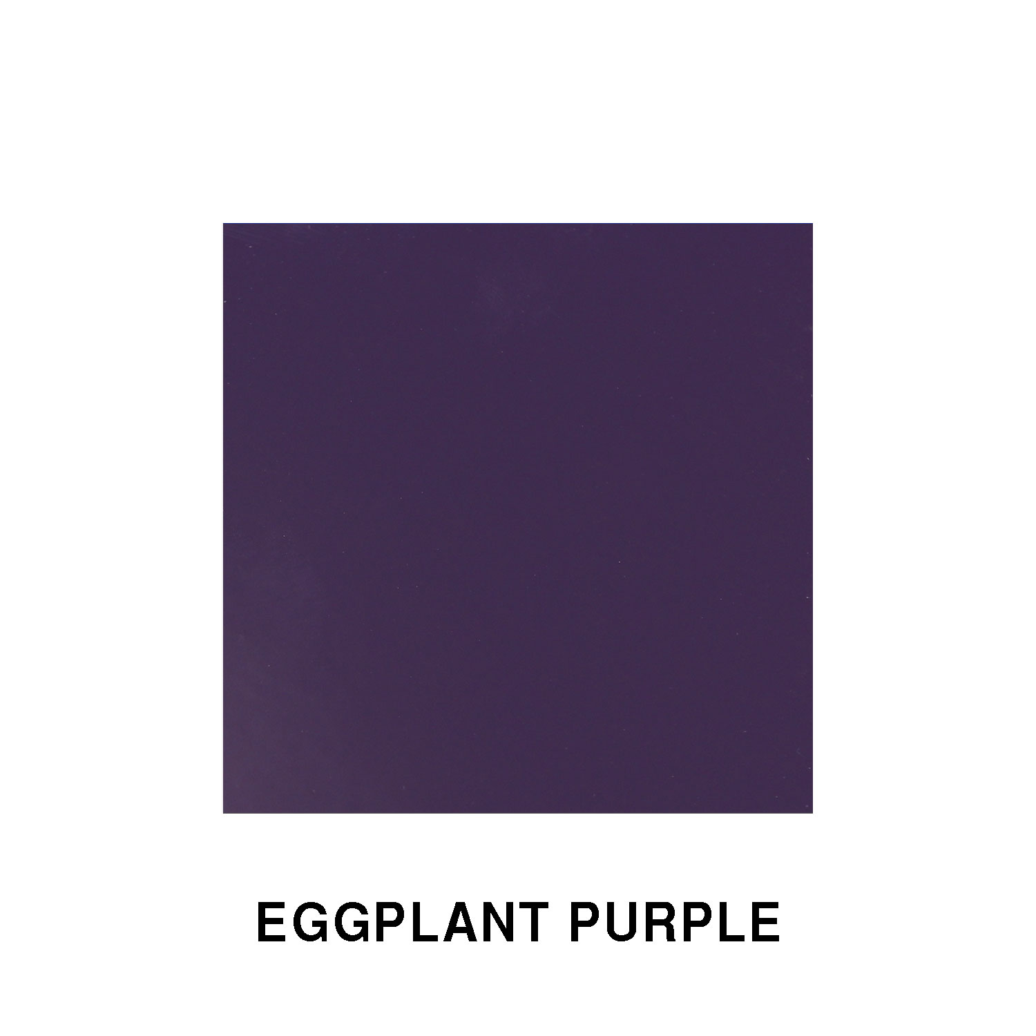 Eggplant Purple Fiberglass Finish