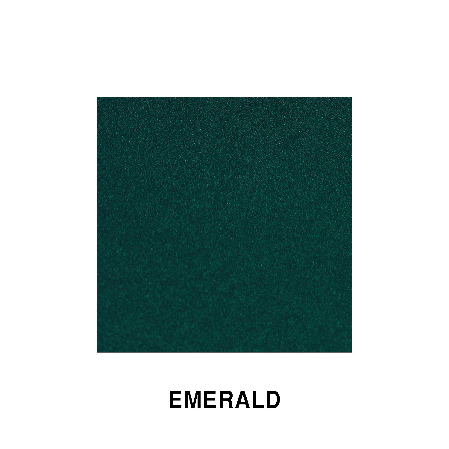 Emerald Green Metallic Fiberglass Finish