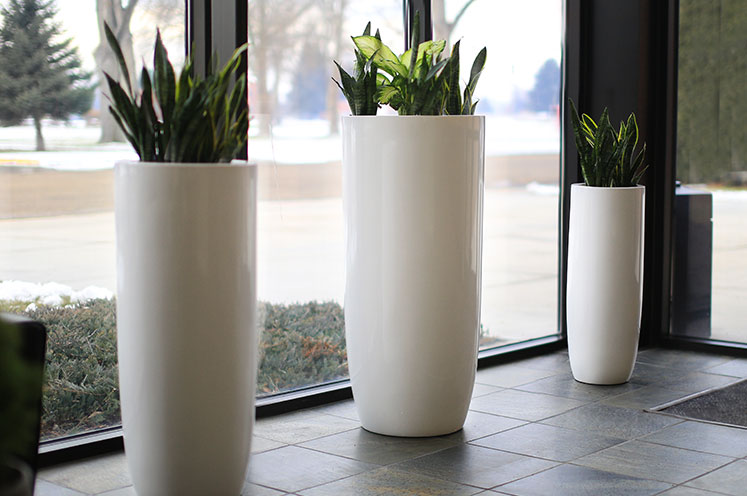 Fiberglass Planters That Complete Your Design