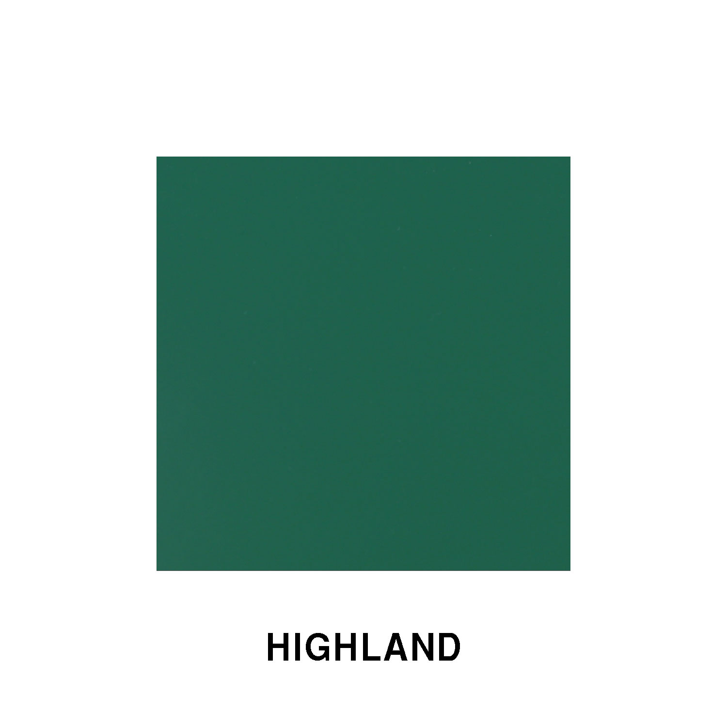 Highland Green Fiberglass Finish
