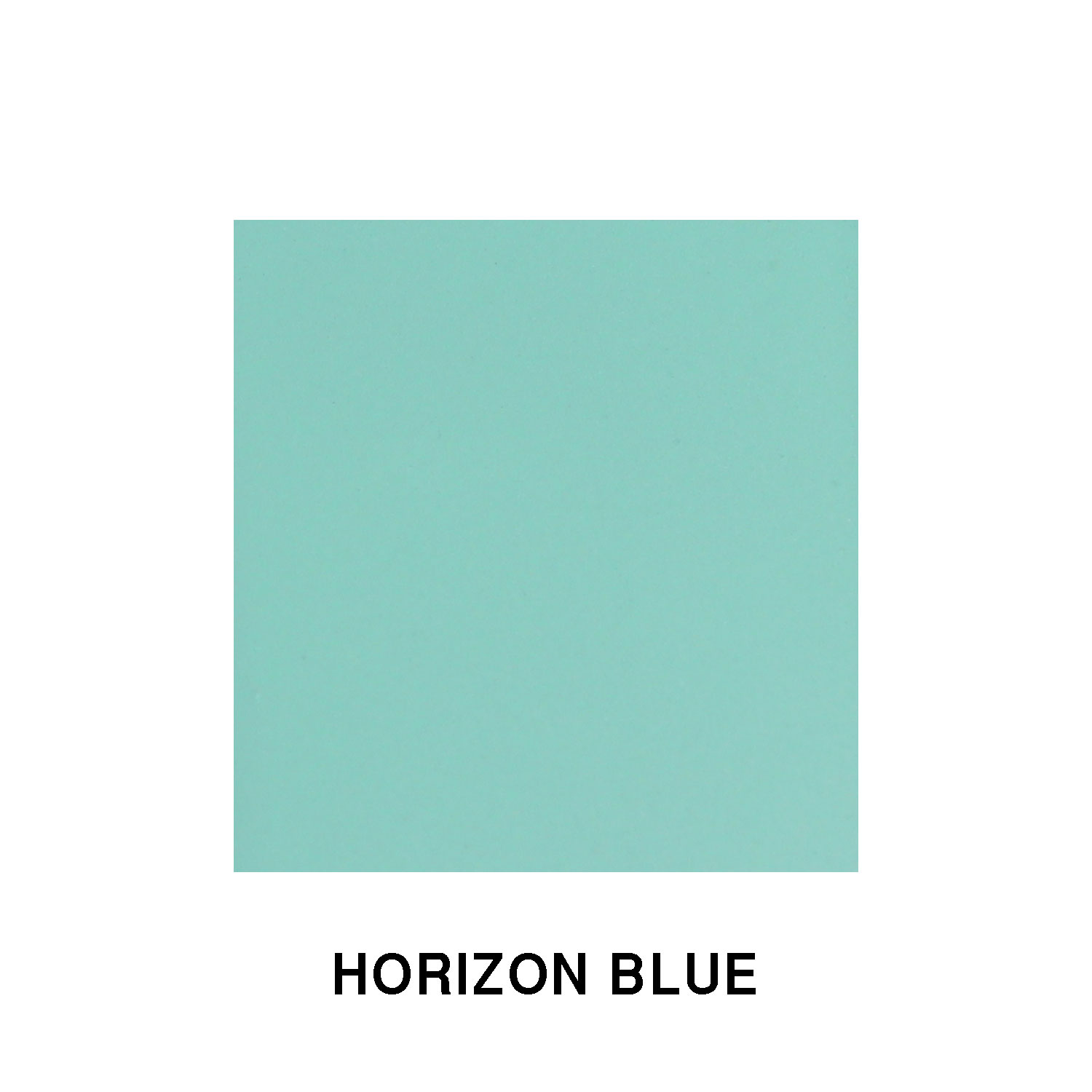 Horizon Blue Fiberglass Finish