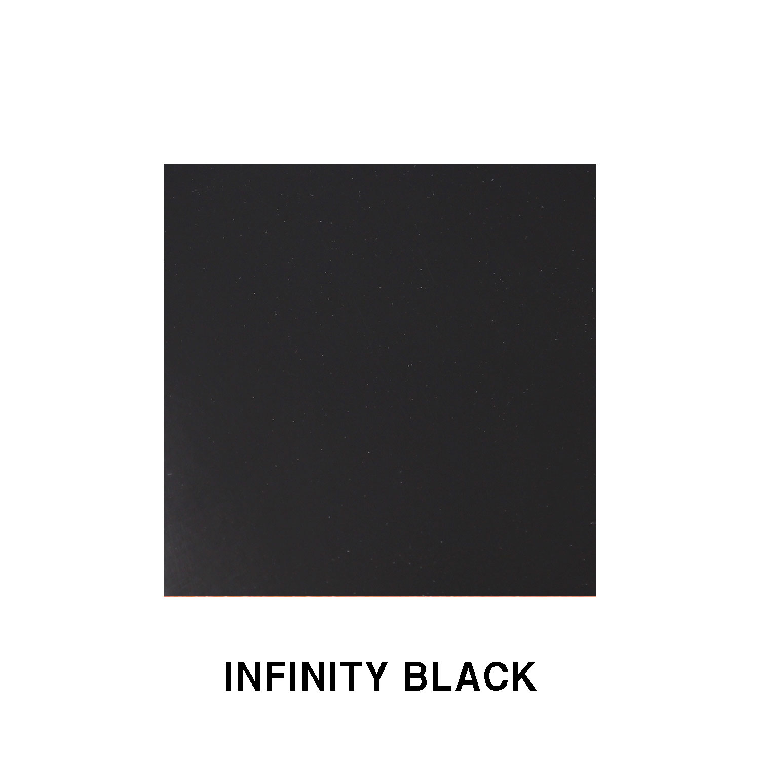 Infinity Black Fiberglass Finish
