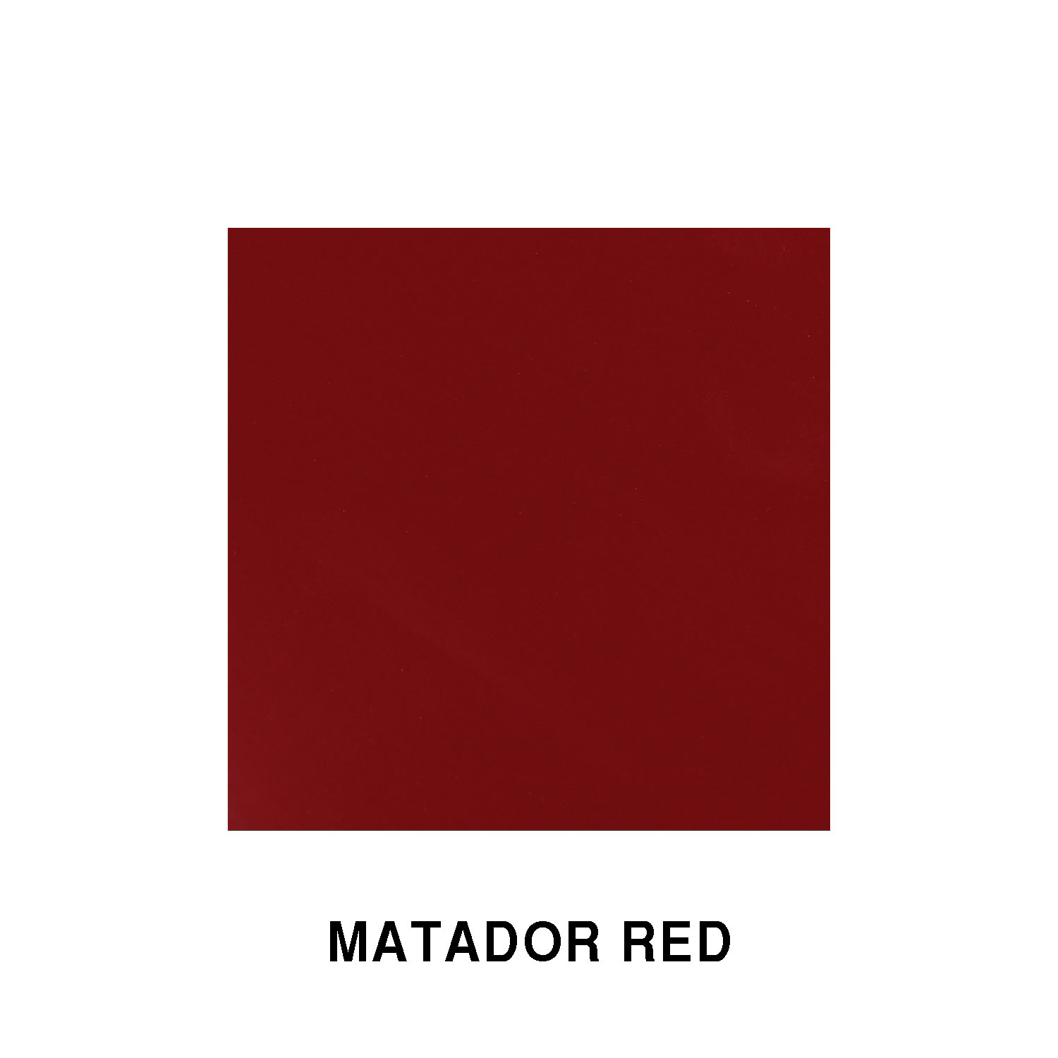 Matador Red Fiberglass Finish
