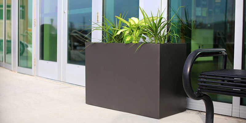 Elegant Planter Boxes