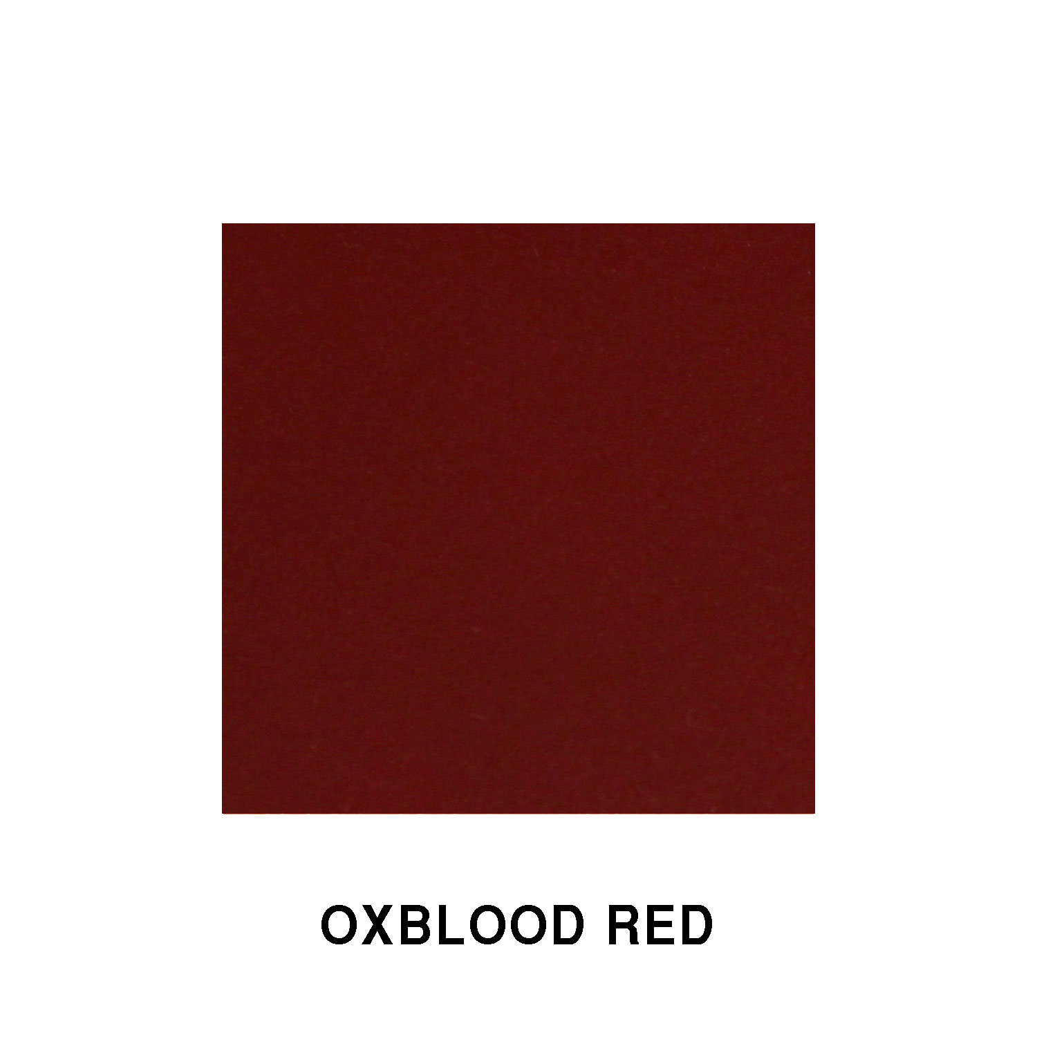 Oxblood Red Fiberglass Finish