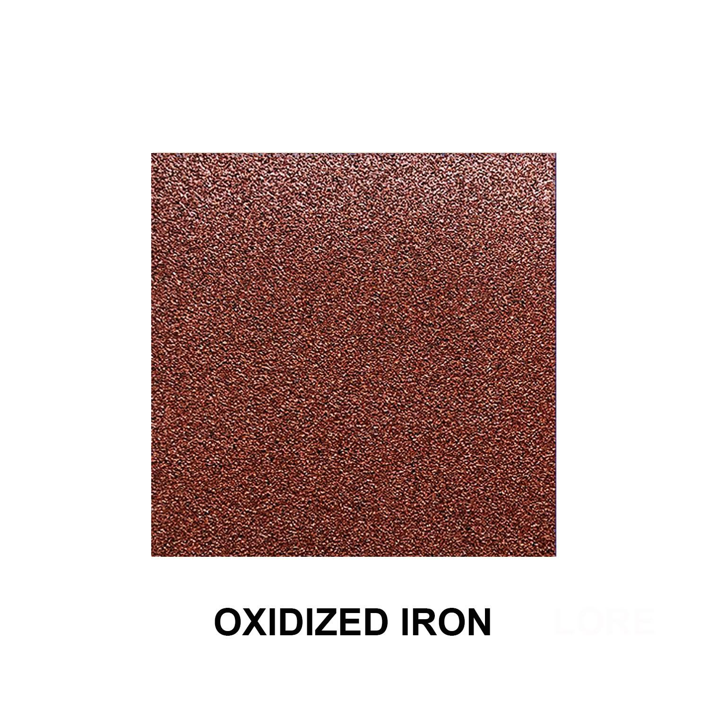 Oxidized Iron Texture Finish