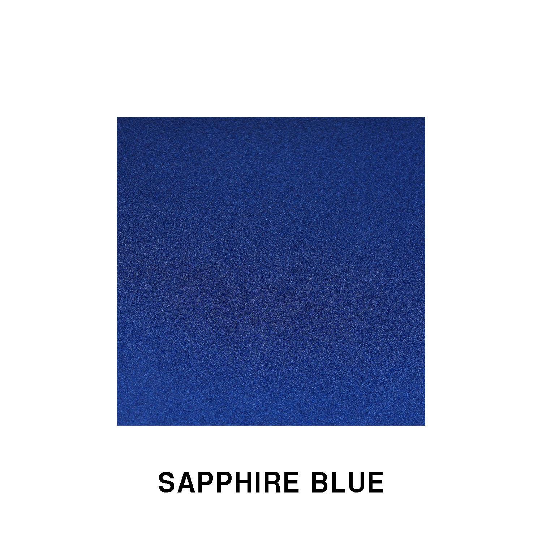 Sapphire Blue Fiberglass Finish