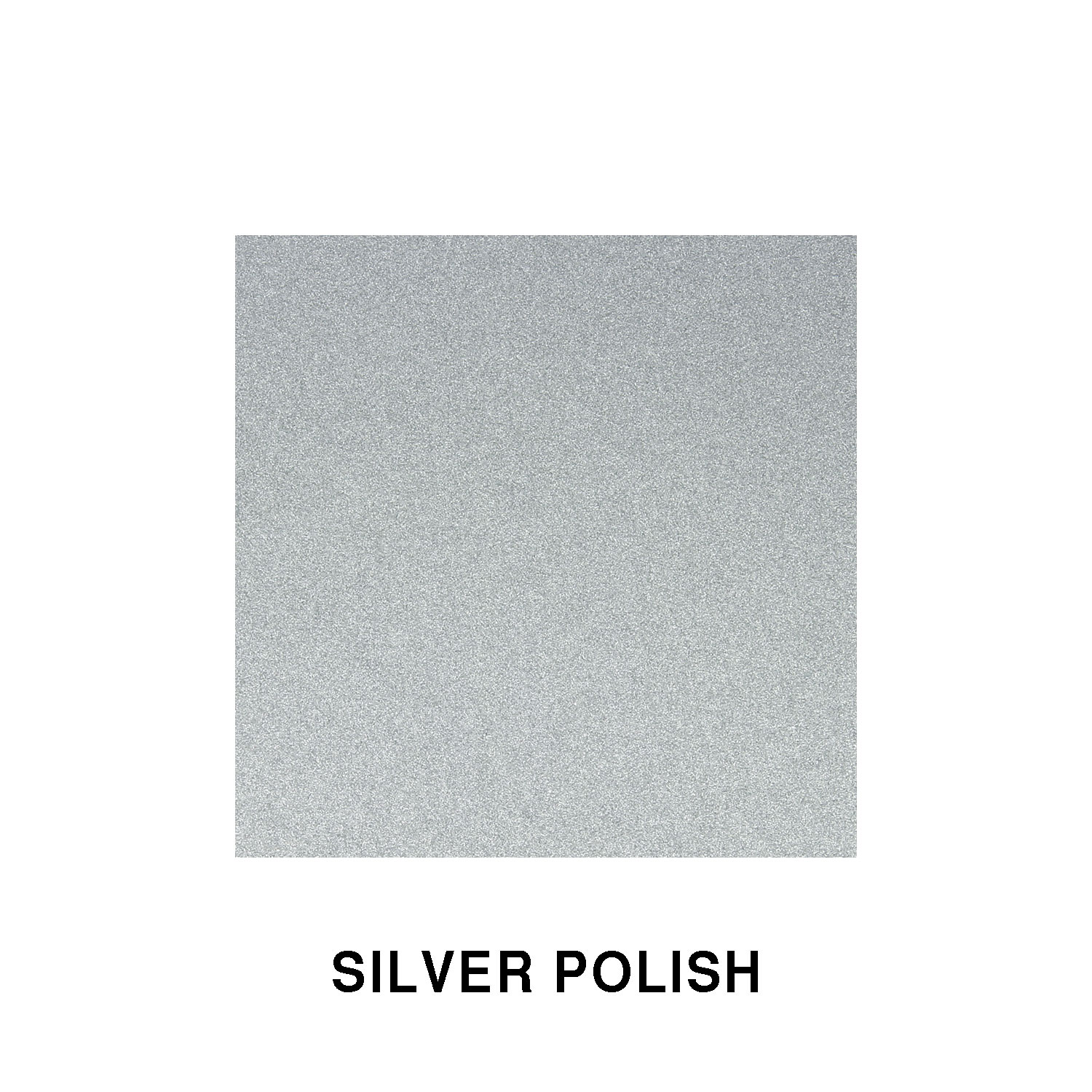 Silver Polish Fiberglass Finish