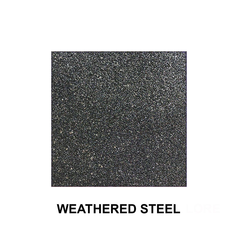 Weathered Steel Texture Finish