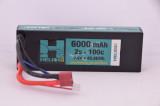 2S 6000 mAh 100c Graphene LiHV Lipo