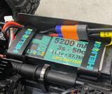 225mm Non-Slip Battery Straps (set of 2)
