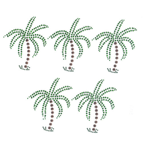 Single Palm Tree sold by 5pcs sheet (S9036)