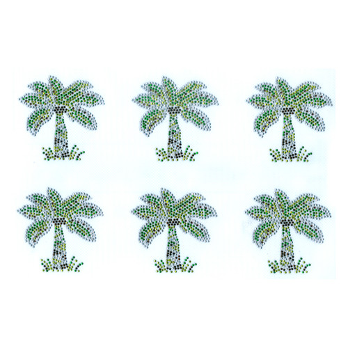 Single Palm Tree sold by 6pcs sheet (S9037)