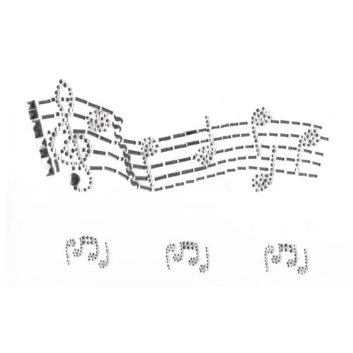 Sheet Music Musical Notes Iron On Design