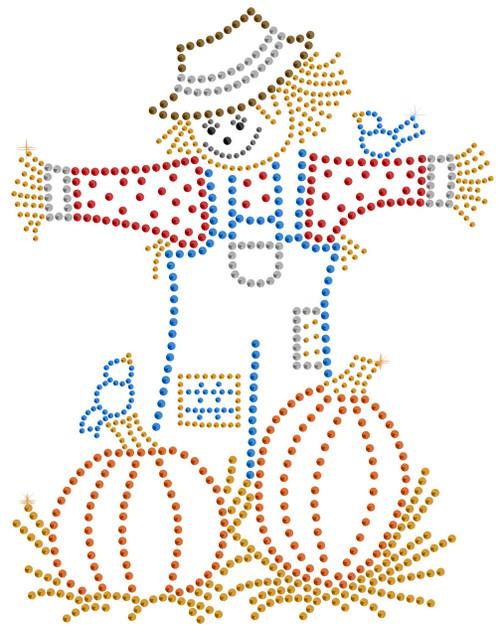Scarecrow Iron-On Design (S102255MD).