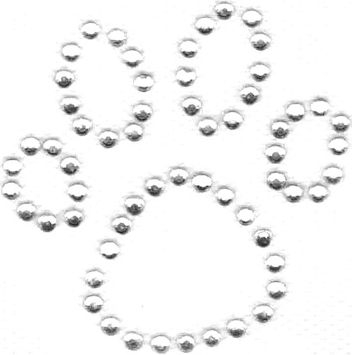 All-Clear Dog Paw Print