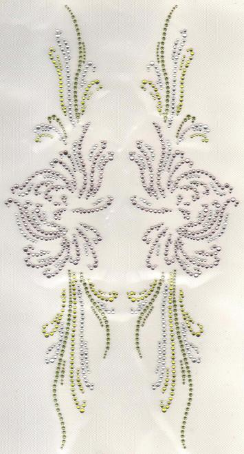Orchid Panel Décor Set.