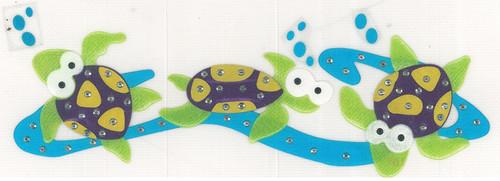 Swimming Turtles Iron-On (MM-0480)