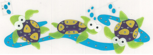 Swimming Turtles Iron-On (MM-0480)