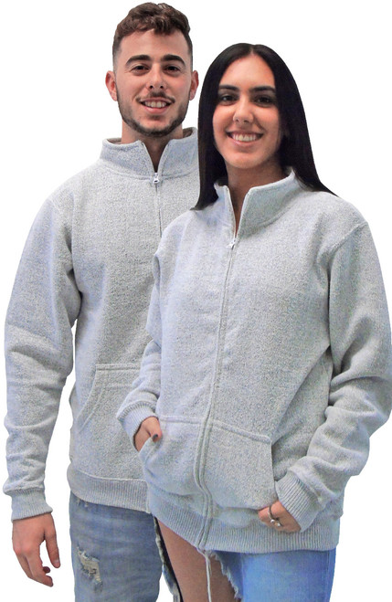 "Nantucket ""No Strings"" Unisex Full-Zipper Fleece (4062)"