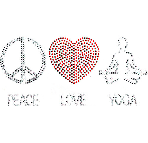 Peace, Love, Yoga Design (S101291)