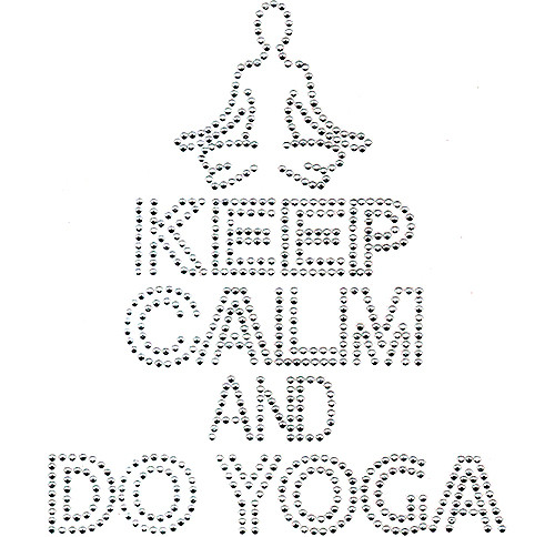 Keep Calm & Do Yoga Design (S101352)