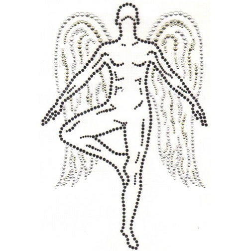 Yoga-practicing Angel Design (S3861)