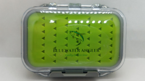 "BLUEWATER TACKLE TAMER SERIES JIG / FLY / LURE BOX  4 1/4""X 3 1/4""X 1 1/4"""