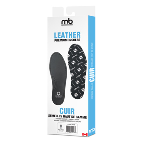 Moneysworth & Best Leather Insole Black