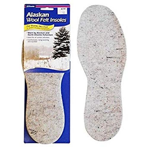J.T. Foote Alaska Wool Felt Insole