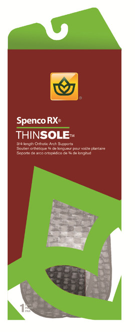 Spenco RX 3/4 Thinsole Orthotic