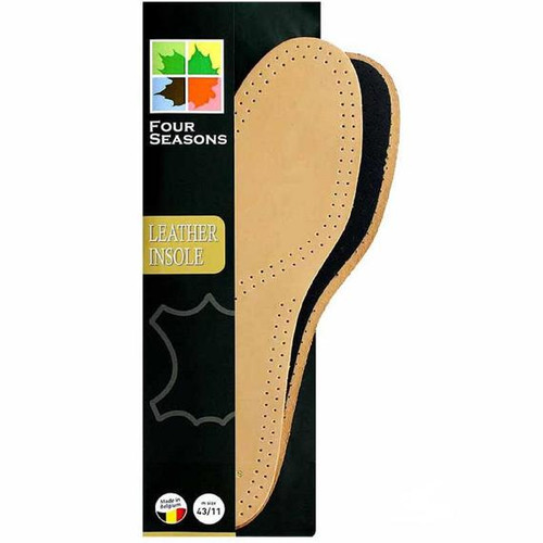 Four Season Full Length Deluxe Leather Insole