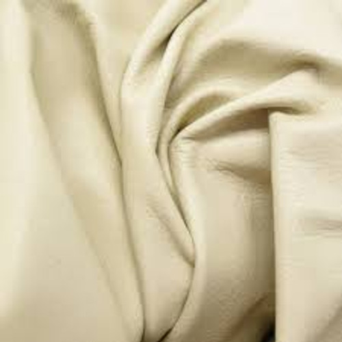 Medium Cream Cow Hide