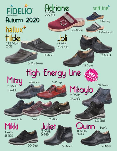 Fidelio Austrian Design Comfort Footwear Fall Collection