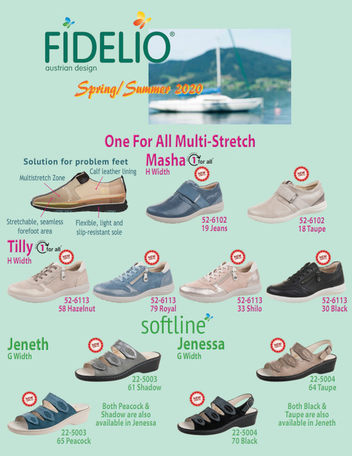 Fidelio Austrian Design Comfort Footwear Spring Collection