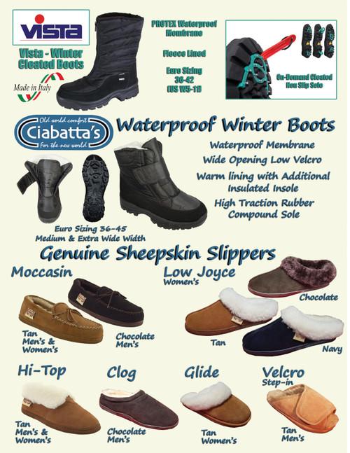 Fall and Winter Seasonal Footwear