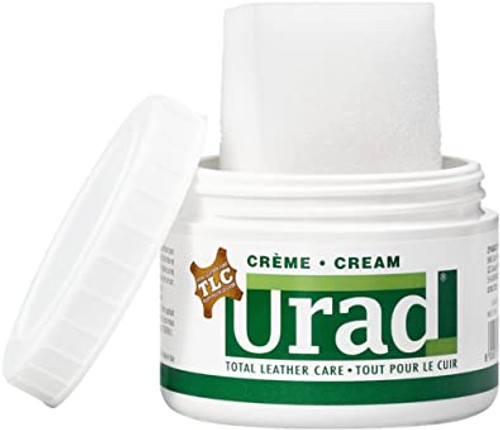 URAD Leather Shoe Boot Self Shine Cream Polish w/Applicator