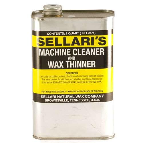 Sellari's Machine Cleaner and Wax Thinner