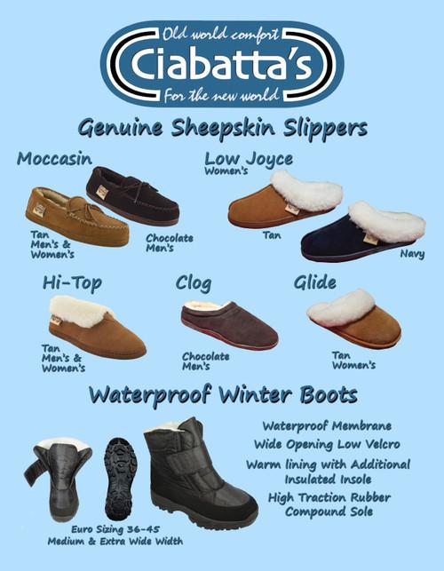 Ciabatta Slipper Collection