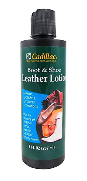 Cadillac Boot and Shoe Leather Conditioner and Cleaner