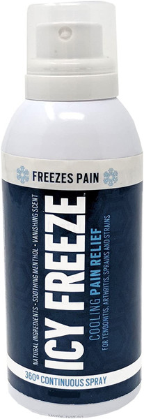 Icy Freeze Cooling Pain Relief 4 oz Spray