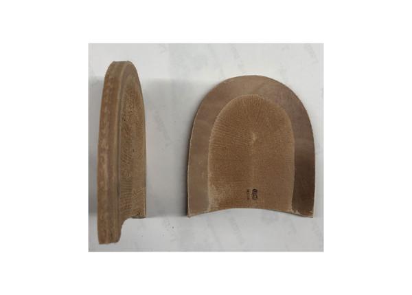 """Leather Heel Base 2.5/8"""""""