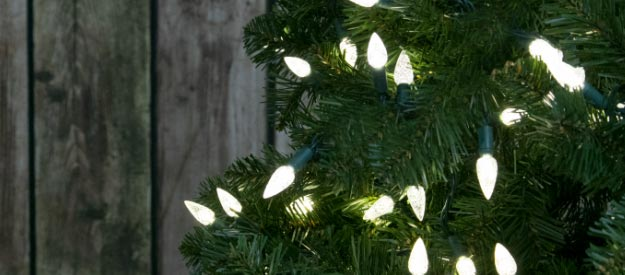 Lit Greenery - Trees, Wreaths, and Garland