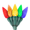 "5-Multi Color C6 ""Strawberry"" LED Lights - Premium Grade - 70 Light Count"