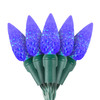 "Blue C6 ""Strawberry"" LED Lights - Premium Grade - 70 Light Count"